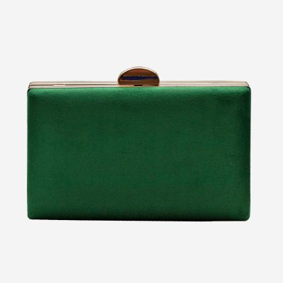 bolso de fiesta verde