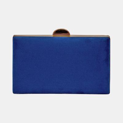 bolso de fiesta azul electrico