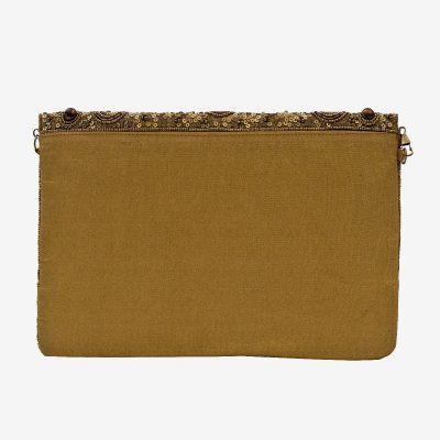 bolso de fiesta dorado