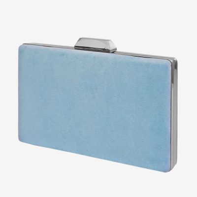 bolso de fiesta azul claro