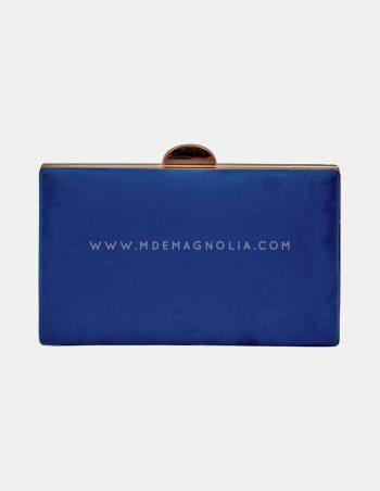 bolso de fiesta azul eléctrico