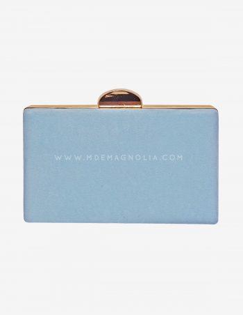 bolso de fiesta azul cielo