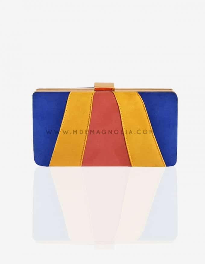 bolso de fiesta de colores
