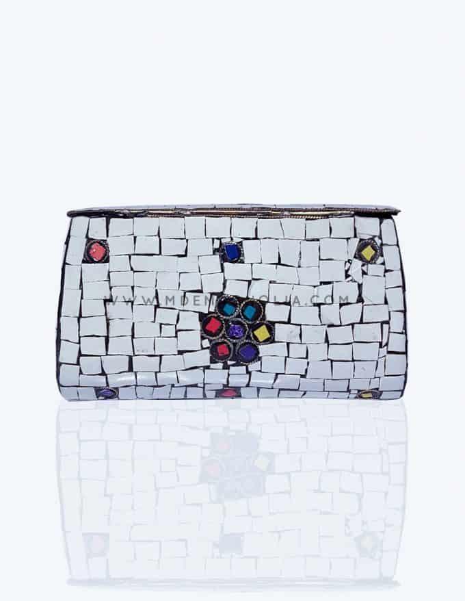 bolso joya indio mosaico