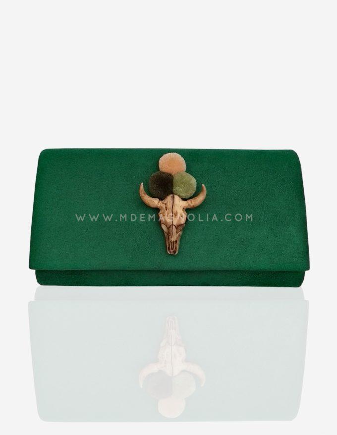 bolso verde original
