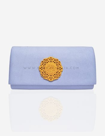 bolso joya azul cielo