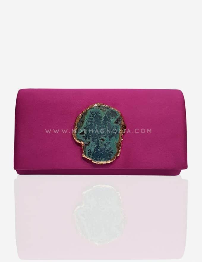 bolso buganvilla con piedra