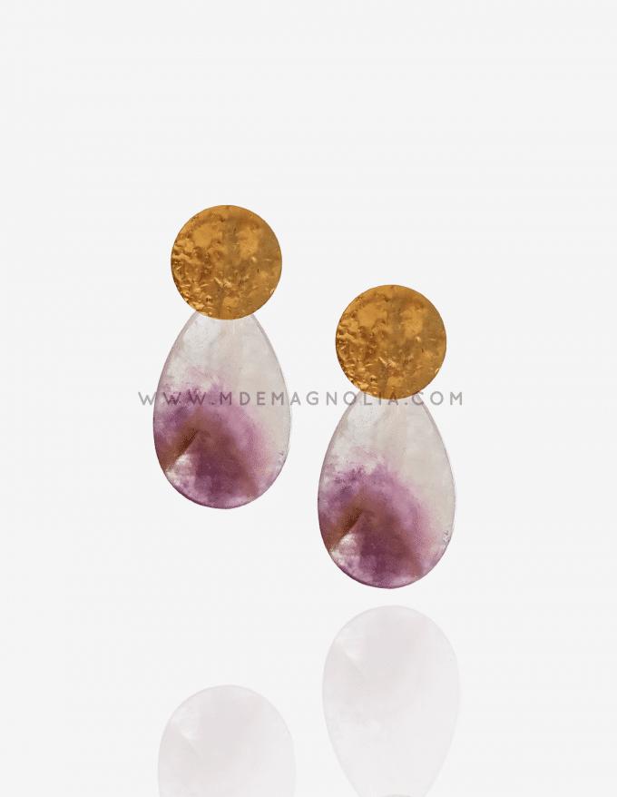 pendientes de piedras preciosas