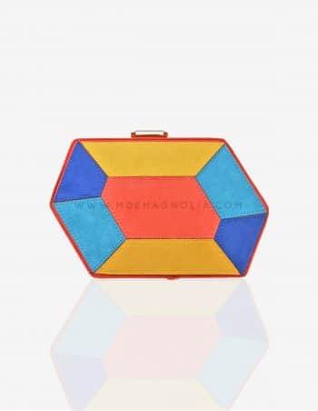 bolso original geométrico