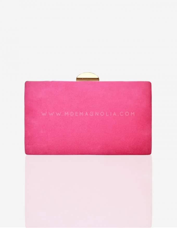 bolso de fiesta rosa chicle