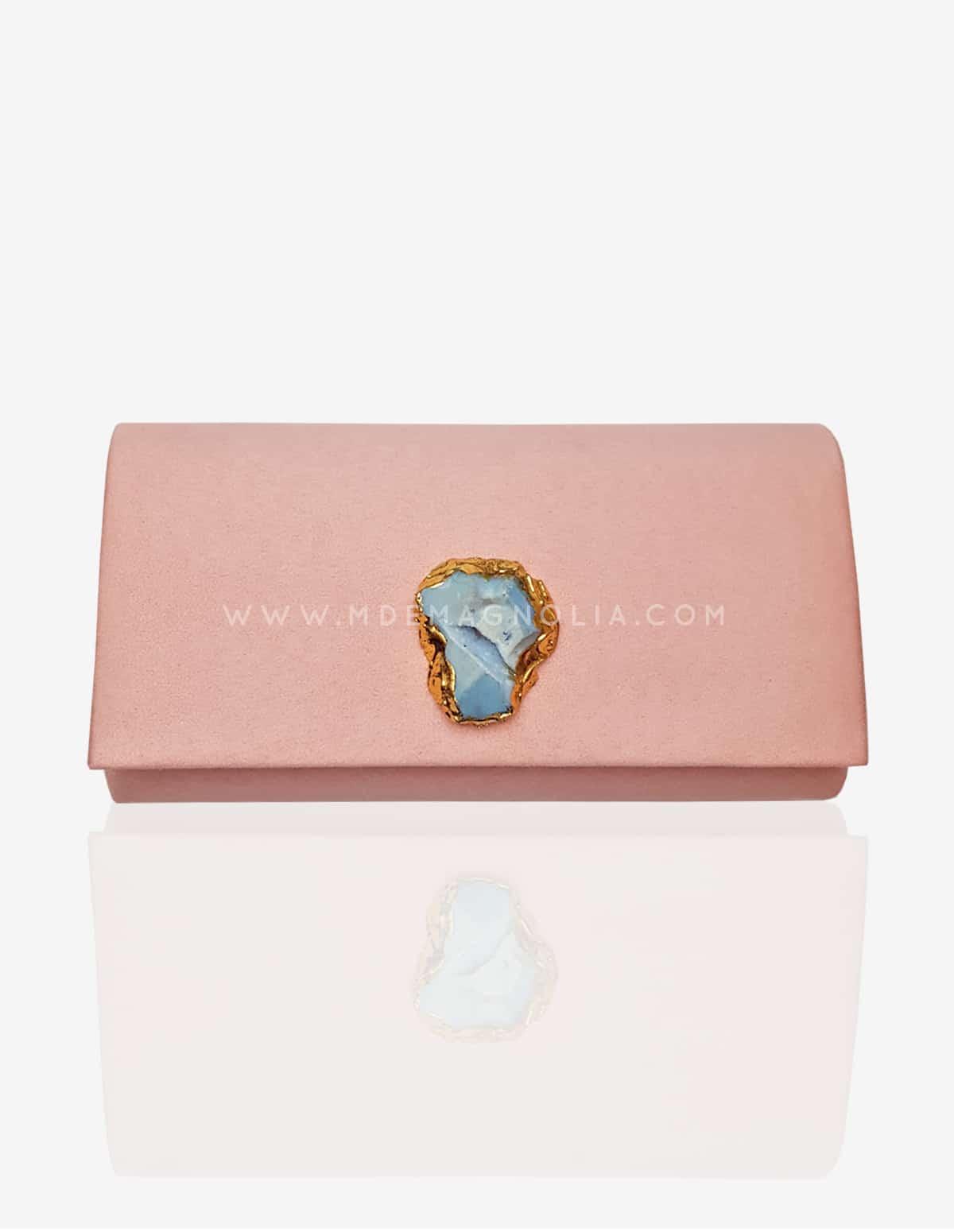 bolso joya rosa palo