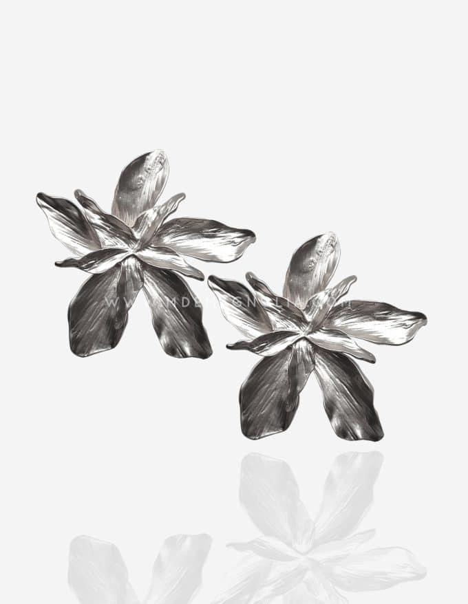 pendientes de flores maxi